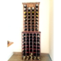 Kép 4/5 - Bortartó állvány 32 bornak bükkfából