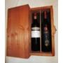 Kép 3/4 - Borkódex bortartó díszdoboz 2 bor számára