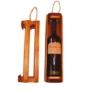 Kép 2/3 - Léces bortartó fadoboz tokaji borosüveg részére