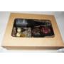 Kép 3/4 - Ablakos ajándékdoboz kraft nagy méret - az ár bor vásárlásával értendő